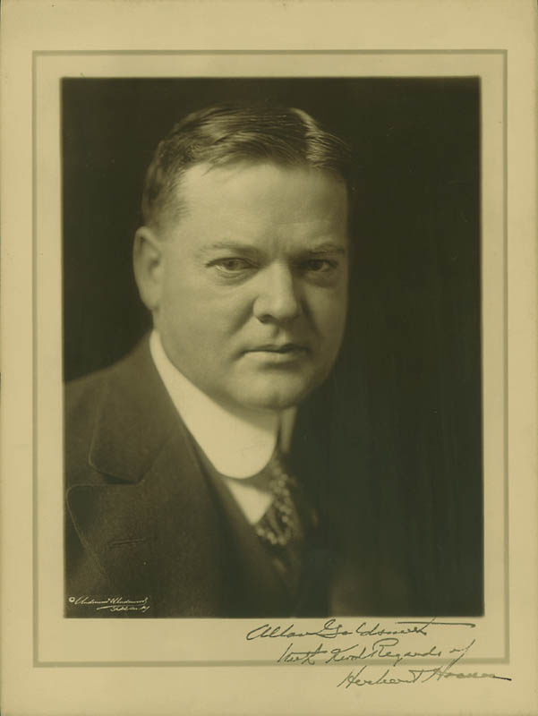 Image 1 for President Herbert Hoover - Autographed Inscribed Photograph - HFSID 253511
