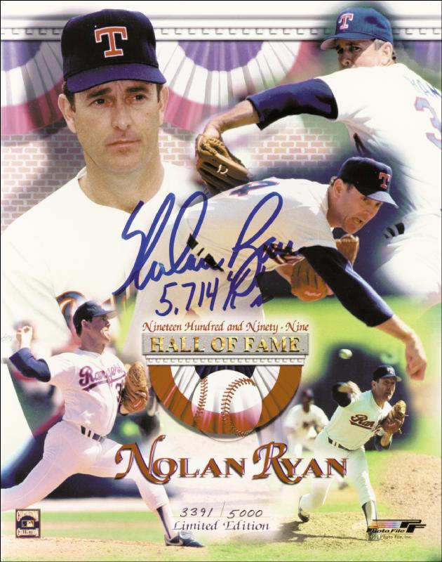 Image 1 for Nolan Ryan - Autographed Signed Photograph - HFSID 253648