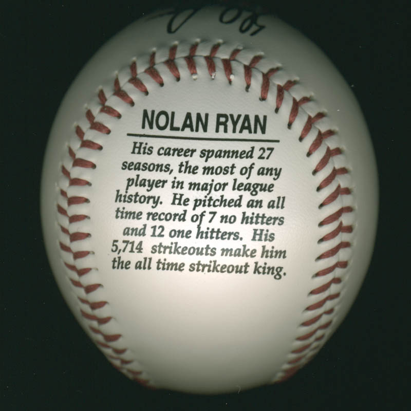 Image 4 for Nolan Ryan - Baseball Unsigned - HFSID 253649