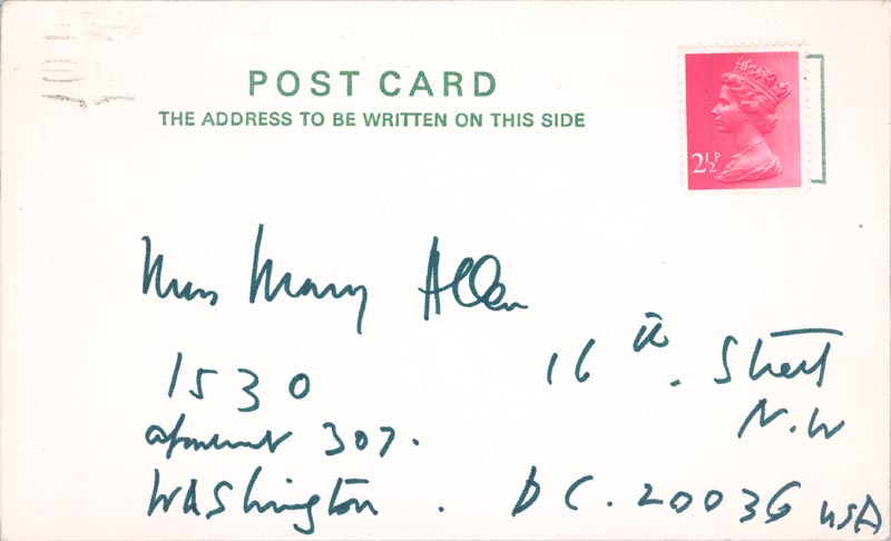 Image 3 for Sir Cecil W. Beaton - Autograph Note Signed 1972 - HFSID 253700