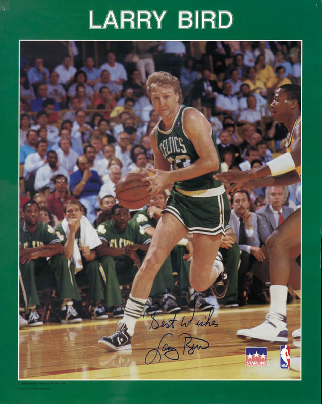 Image 1 for Larry Bird - Autographed Signed Photograph - HFSID 253810