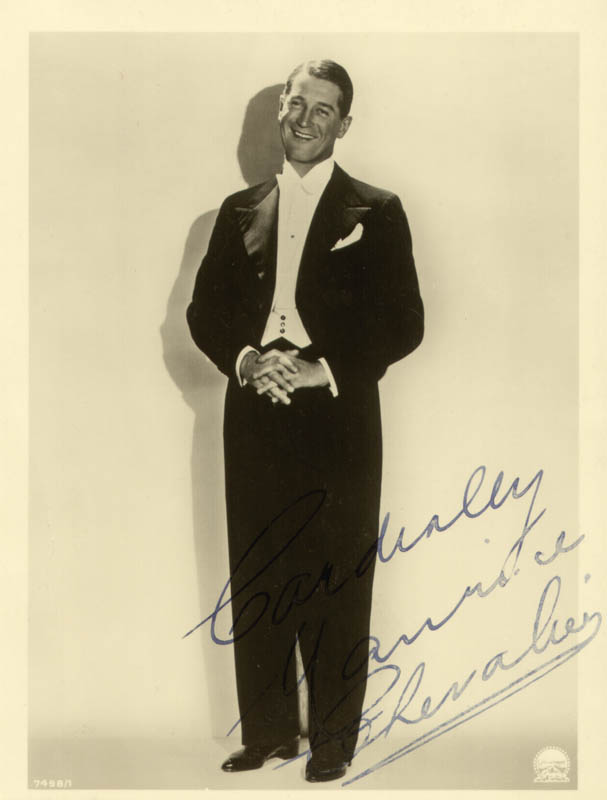 Image 1 for Maurice Chevalier - Autographed Signed Photograph - HFSID 254199