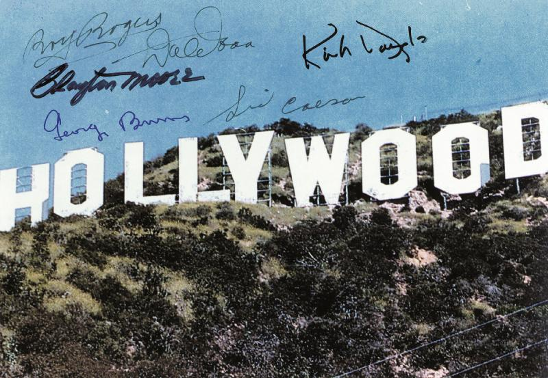 Image 1 for Hollywood Stars - Autographed Signed Photograph with co-signers - HFSID 254398