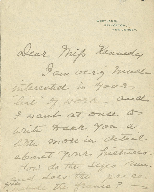 Image 3 for First Lady Frances F. Cleveland - Autograph Letter Signed 03/03/1898 - HFSID 254441