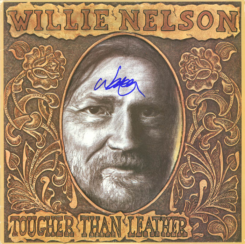 Image 1 for Willie Nelson - Record Album Cover Signed - HFSID 254492