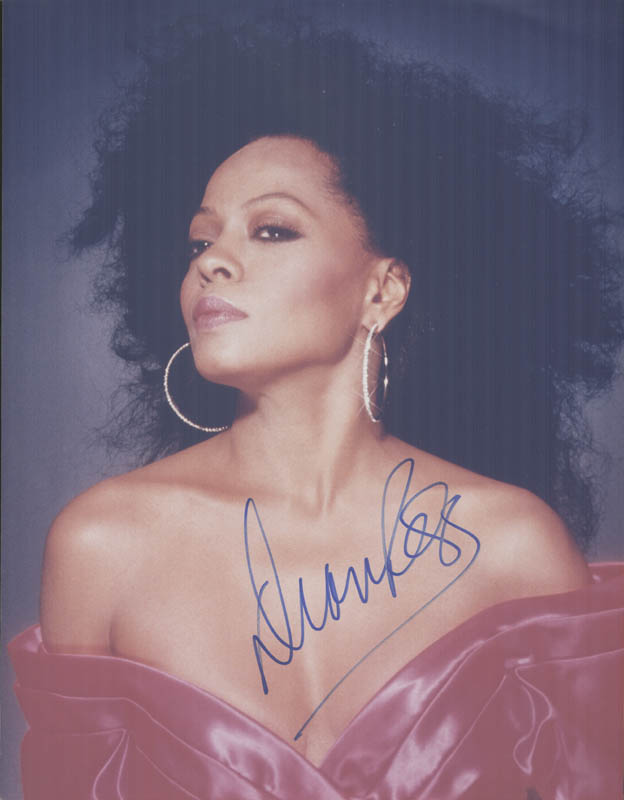 Image 1 for Diana Ross - Autographed Signed Photograph - HFSID 254534