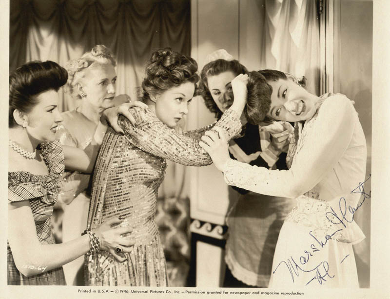 Image 1 for Marsha Hunt - Autographed Inscribed Photograph - HFSID 25454