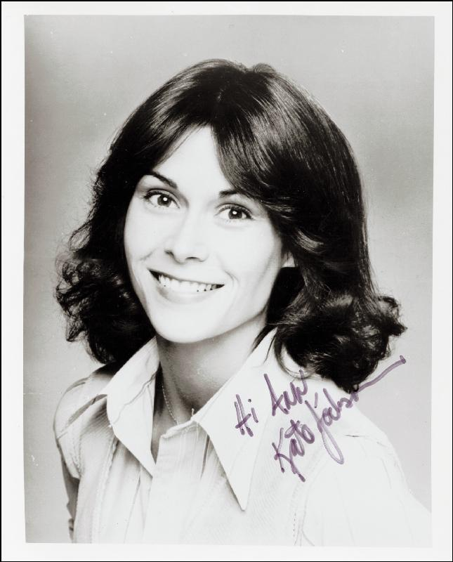 Kate Jackson - Inscribed Photograph Signed