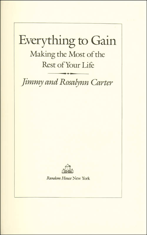 Image 3 for President James E. 'Jimmy' Carter - Book Signed Circa 1987 co-signed by: First Lady Rosalynn Carter - HFSID 254890