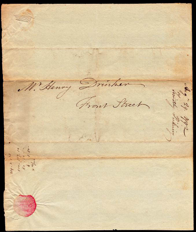 Image 3 for General Timothy Pickering - Autograph Letter Signed 08/29/1792 - HFSID 254954