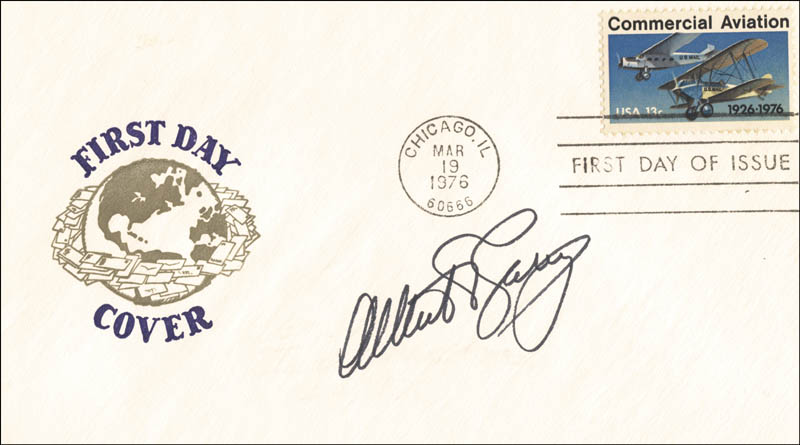 Image 1 for Albert V. Casey - First Day Cover Signed - HFSID 255241