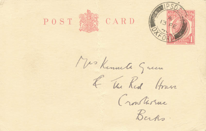 Image 3 for Rosamond Lehmann - Autograph Letter Signed - HFSID 255356