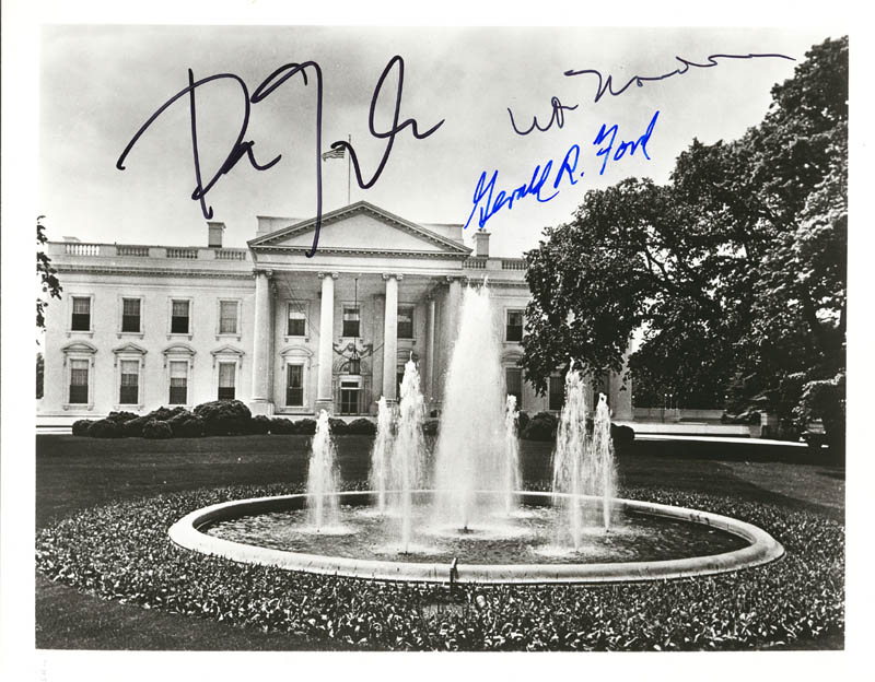 Image 1 for President Gerald R. Ford - Autographed Signed Photograph with co-signers - HFSID 255398