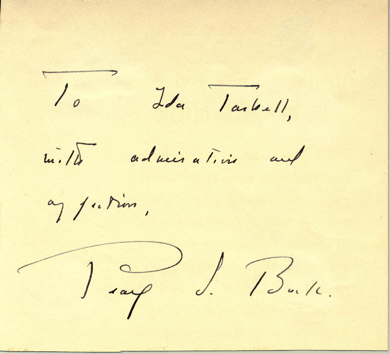 Image 1 for Pearl S. Buck - Autograph Note Signed - HFSID 255428