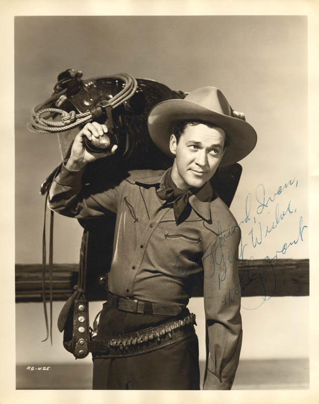 Image 1 for Kirby Grant - Autographed Inscribed Photograph - HFSID 255492
