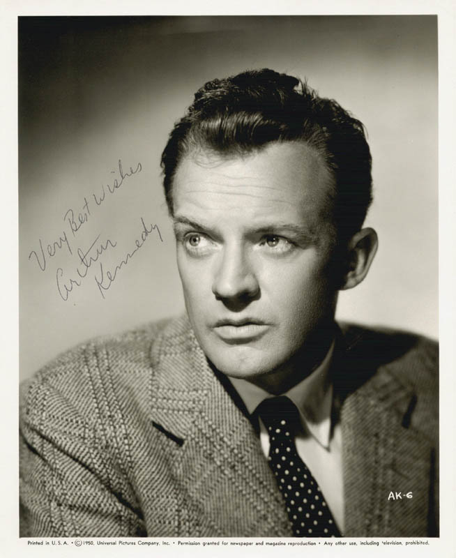 Image 1 for Arthur Kennedy - Autographed Signed Photograph - HFSID 255495