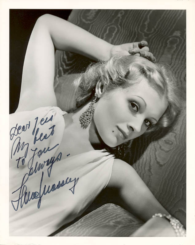 Image 1 for Iiona Massey - Autographed Inscribed Photograph - HFSID 255501
