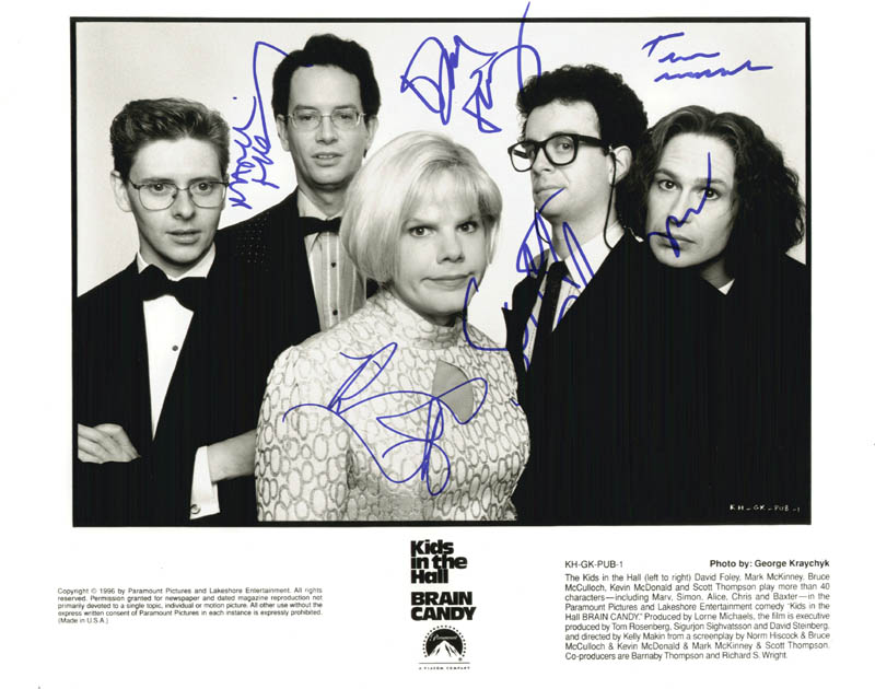Image 1 for The Kids In The Hall - Autographed Signed Photograph with co-signers - HFSID 255541