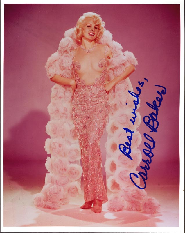 Image 1 for Carroll Baker - Autographed Signed Photograph - HFSID 255556