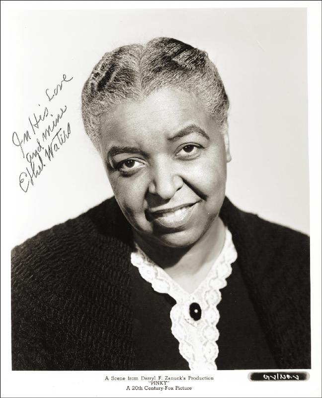 Image 1 for Ethel Waters - Autographed Signed Photograph - HFSID 255635