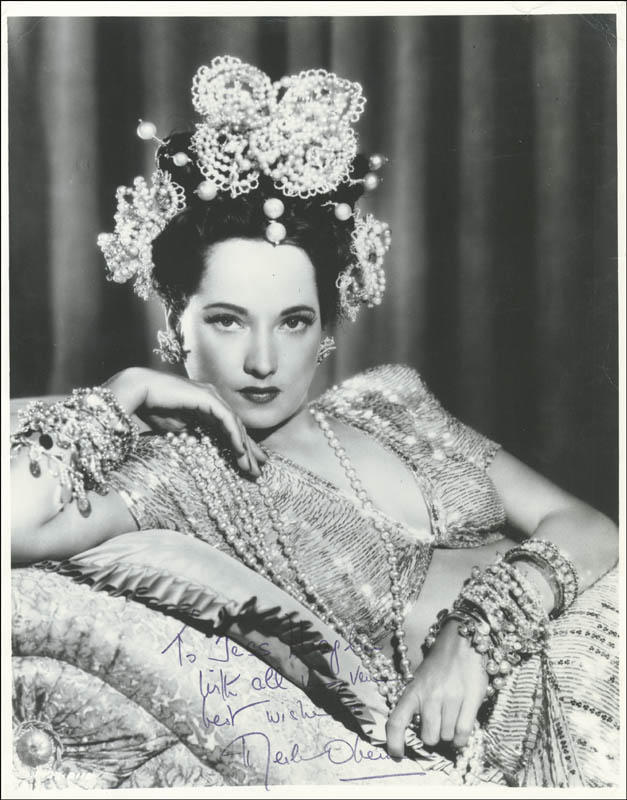 Image 1 for Merle Oberon - Autographed Inscribed Photograph - HFSID 255774