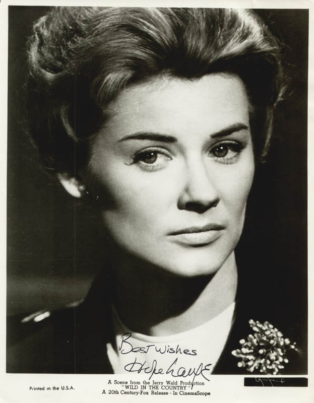 Image 1 for Hope Lange - Autographed Signed Photograph - HFSID 25580