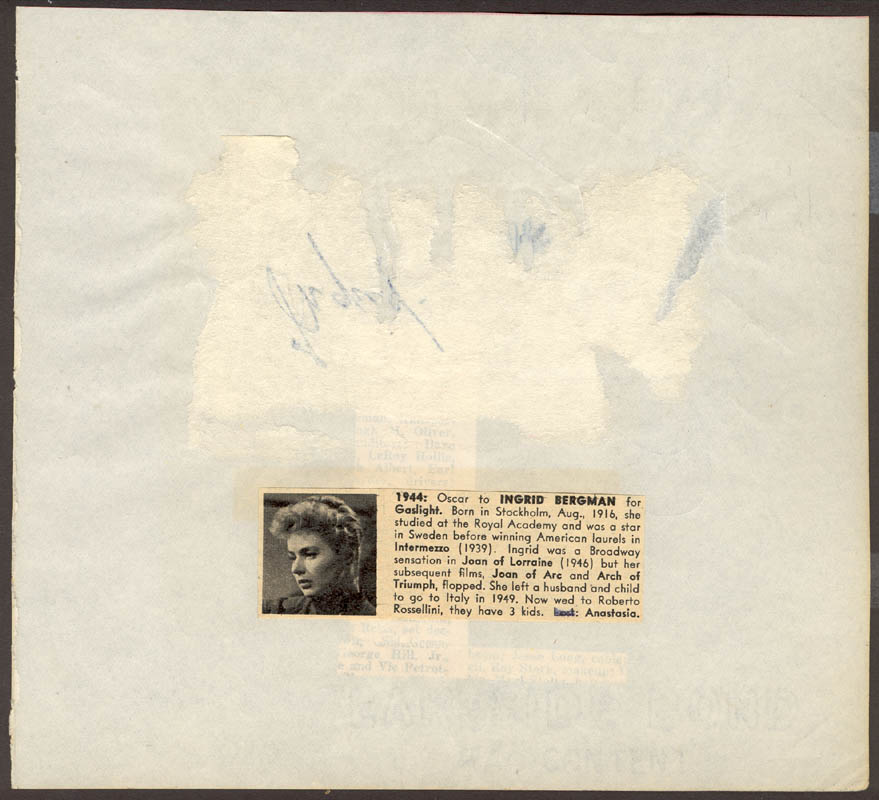 Image 3 for Mervyn Leroy - Autograph Note Signed - HFSID 25602