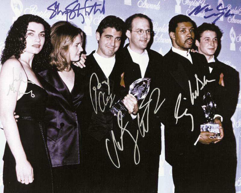 Image 1 for E/R TV Cast - Autographed Signed Photograph with co-signers - HFSID 256585