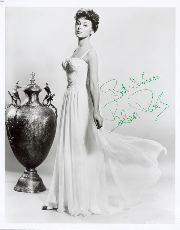 Image 1 for Barbara Rush - Autographed Signed Photograph - HFSID 256658