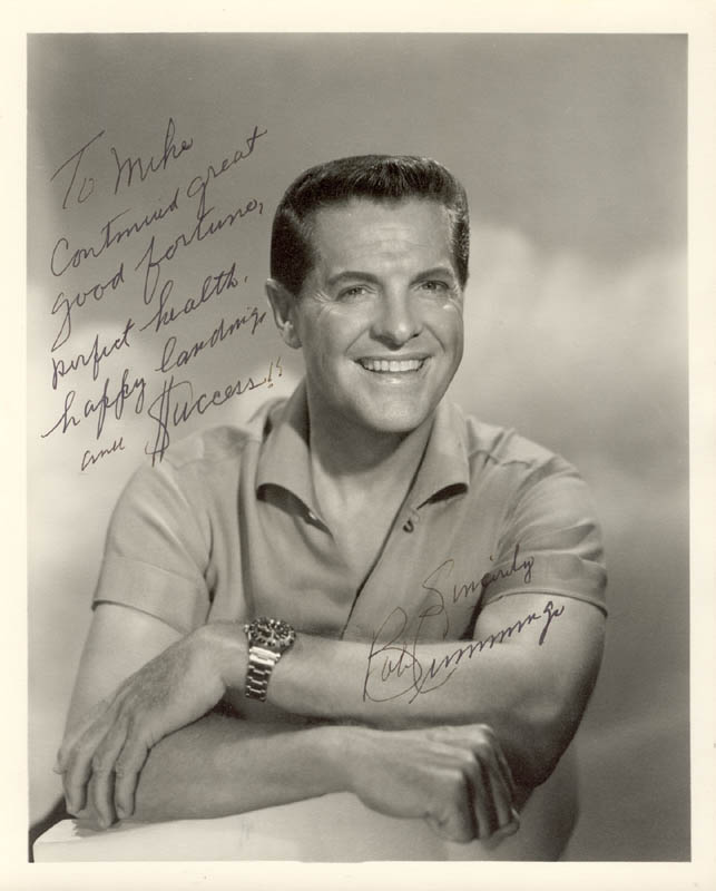 Image 1 for Robert 'Bob' Cummings - Autographed Inscribed Photograph - HFSID 256714
