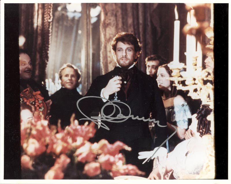 Image 1 for Placido Domingo - Autographed Signed Photograph - HFSID 256781
