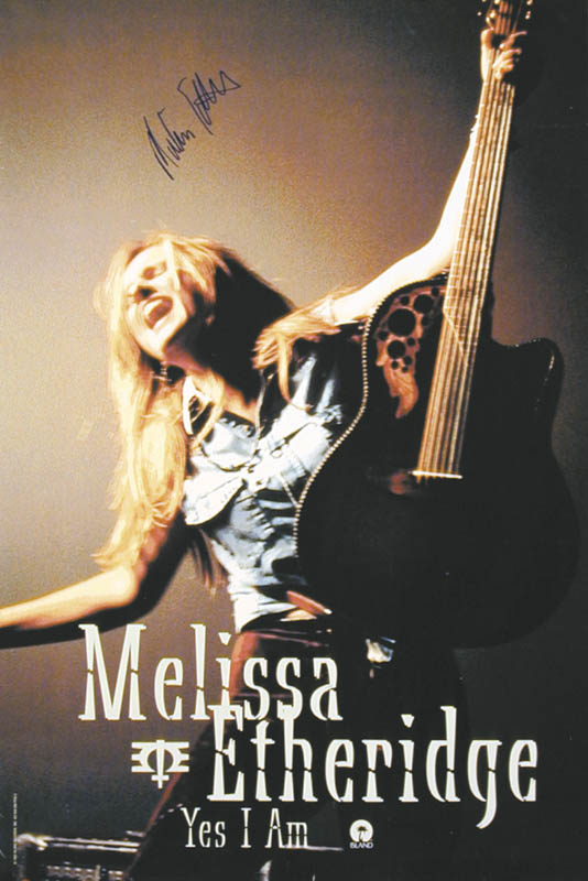 Image 3 for Melissa Etheridge - Autographed Signed Poster - HFSID 256924