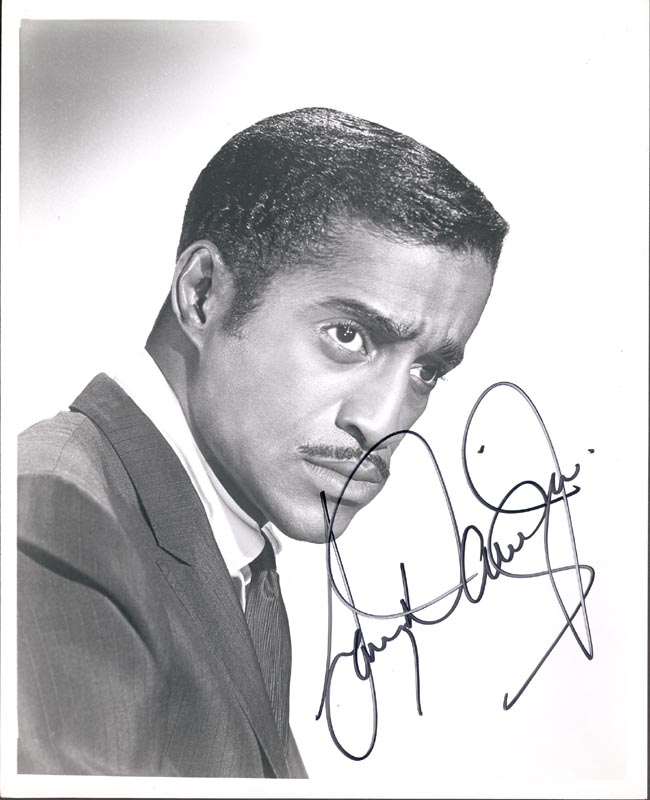 Image 1 for Sammy Davis Jr. - Autographed Signed Photograph - HFSID 256940