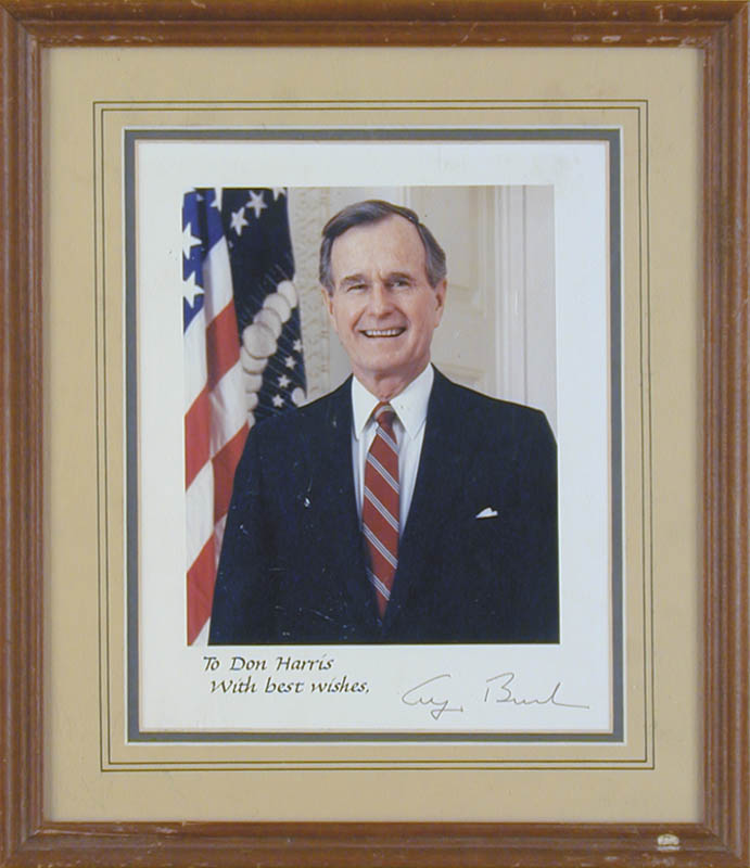 Image 1 for President George H.W. Bush - Autographed Signed Photograph - HFSID 257215