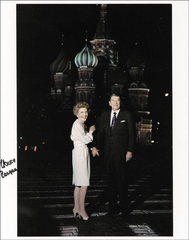 Image 1 for First Lady Nancy Davis Reagan - Autographed Signed Photograph - HFSID 257264