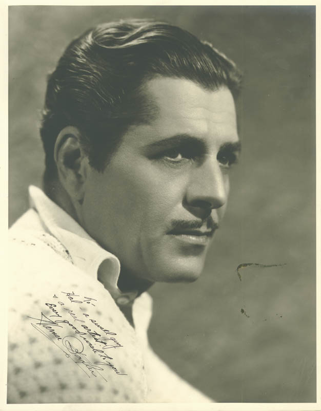 Image 1 for Warner Baxter - Autographed Inscribed Photograph - HFSID 258076