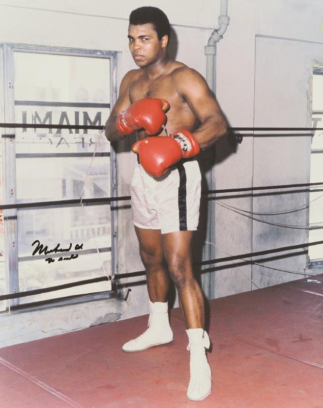 Image 1 for Muhammad 'The Greatest' Ali - Autographed Signed Photograph - HFSID 258107
