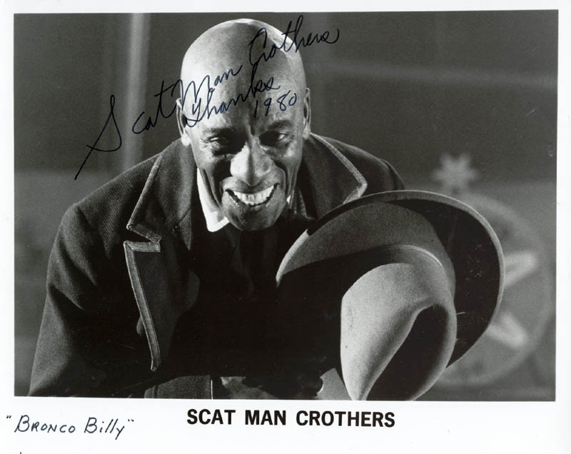 Image 1 for Scatman (Benjamin S.) Crothers - Autographed Signed Photograph 1980 - HFSID 258180