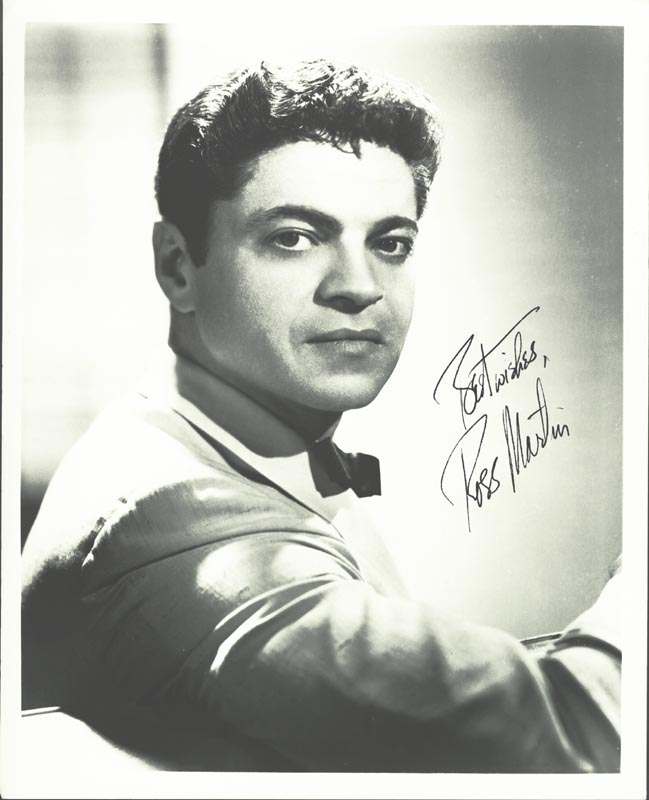 Image 1 for Ross Martin - Autographed Signed Photograph - HFSID 258181