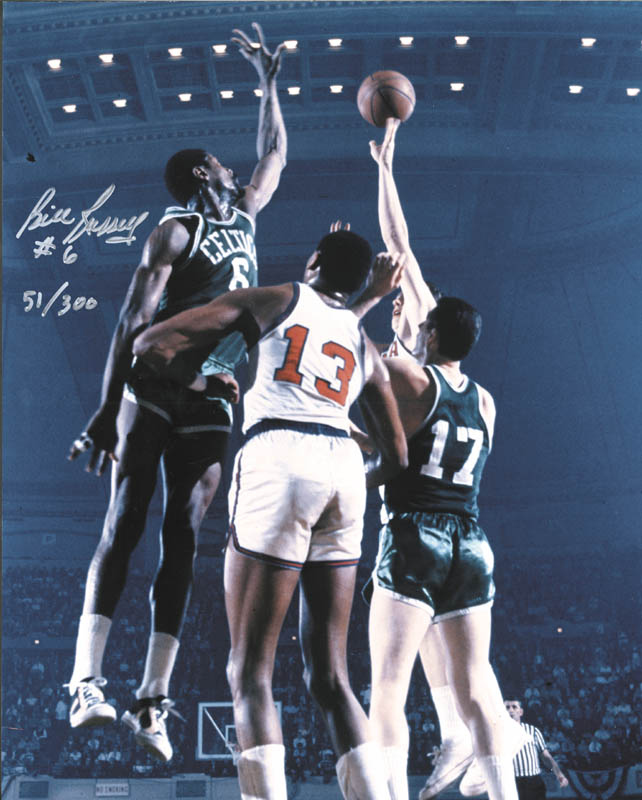 Image 1 for Bill Russell - Autographed Signed Photograph - HFSID 258747