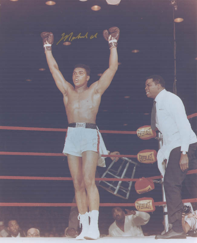 Image 1 for Muhammad 'The Greatest' Ali - Autographed Signed Photograph - HFSID 258748