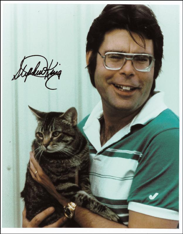 Image 1 for Stephen King - Autographed Signed Photograph - HFSID 258863