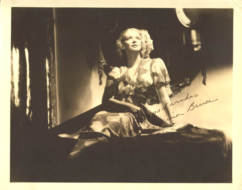 Image 1 for Virginia Bruce - Autographed Signed Photograph - HFSID 258894