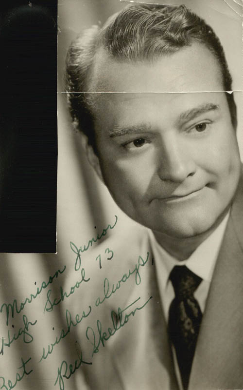 Image 1 for Red Skelton - Autographed Inscribed Photograph - HFSID 25901