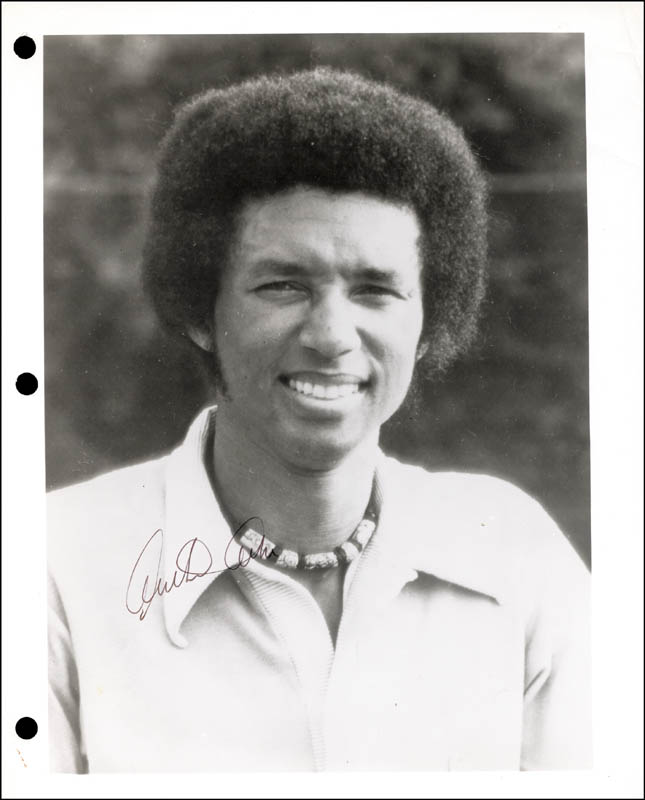 Image 1 for Arthur Ashe - Autographed Signed Photograph - HFSID 259133