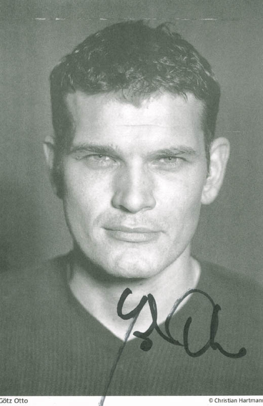 Image 1 for Gotz Otto - Autographed Signed Photograph - HFSID 259251