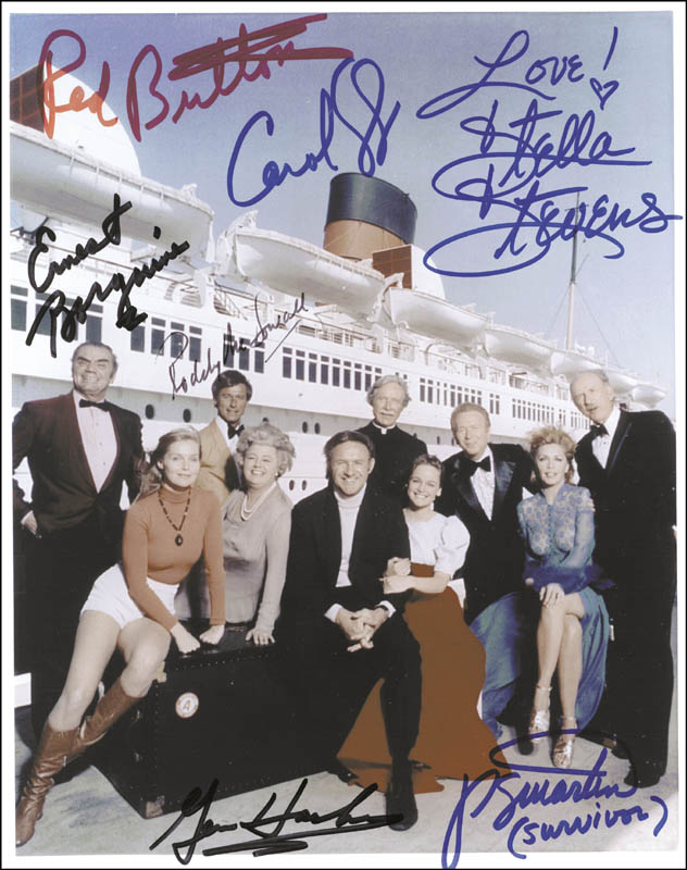 Image 1 for The Poseidon Adventure Movie Cast - Autographed Signed Photograph with co-signers - HFSID 259270