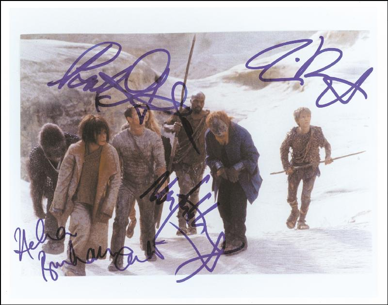 Image 1 for Planet Of The Apes Movie Cast 2001 - Autographed Signed Photograph with co-signers - HFSID 259271