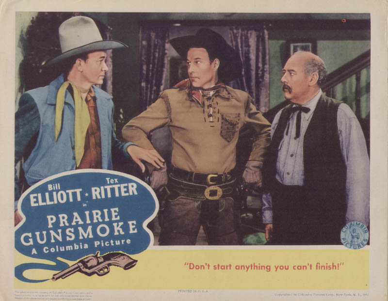 Image 1 for Prairie Gunsmoke Movie Cast - Lobby Card Unsigned (Usa) 1942 - HFSID 259370