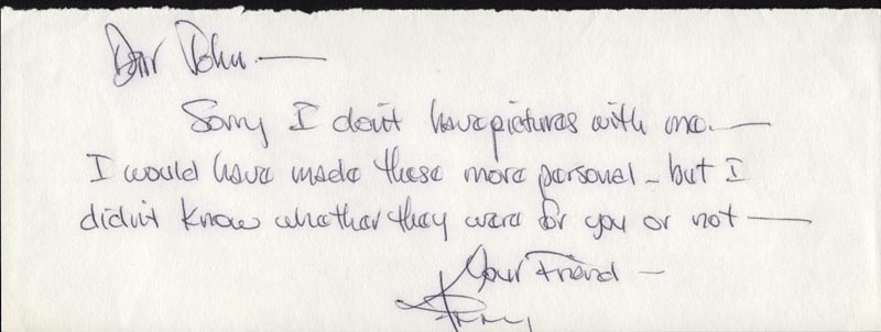 Image 1 for Kenny Rogers - Autograph Letter Signed - HFSID 25963